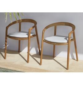 MANUTTI Solid chair teak
