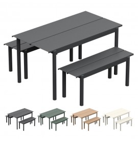MUUTO Linear table steel
