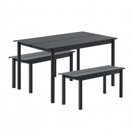 MUUTO Linear steel bench