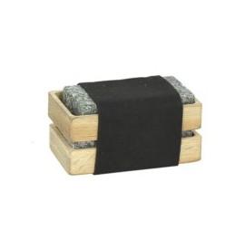 OGO 16 ijsblokjes in houten...