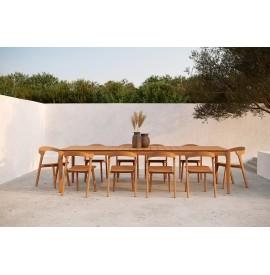 Ethnicraft Bok outdoor stoel