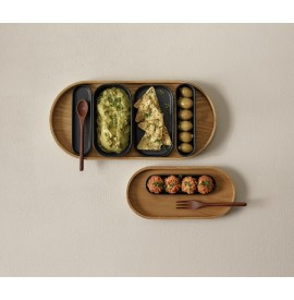 ASA Coppa kuro wooden tray