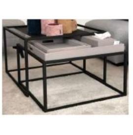 MENZA Nesting table black...