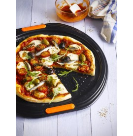 Le Creuset Pizzaplaat staal...