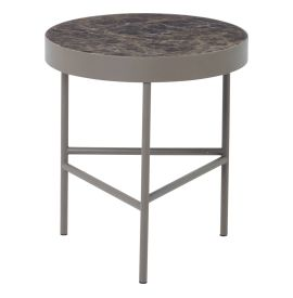 FERM-MARBLE TABLE-MEDIUM-Brown