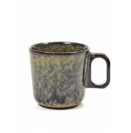 MUG SURFACE MET OOR D9 H8,5 INDI GREY