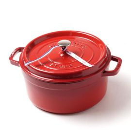 Cocotte rond 26cm rood Staub
