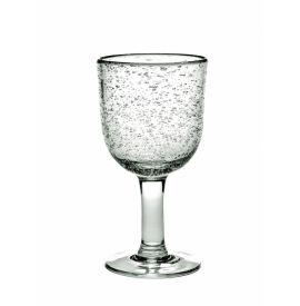 Rode wijnglas H15,5 Pascale Naessens set 4x