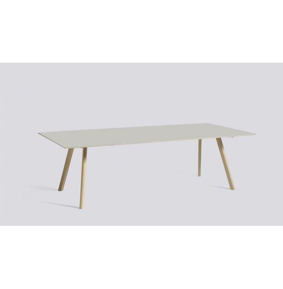 CPH30 Table oak 200x90 linoleum grey HAY