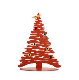Bark Magnetische Kerstboom rood 45 cm Alessi