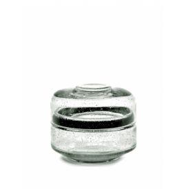 PURE STORAGE POT GLASS S D12 CM H10 CM