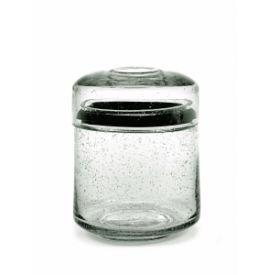 PURE STORAGE POT GLASS M D12 CM H16 CM
