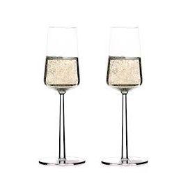 Iittala ESSENCE GLAS CHAMPAGNE Set van 2