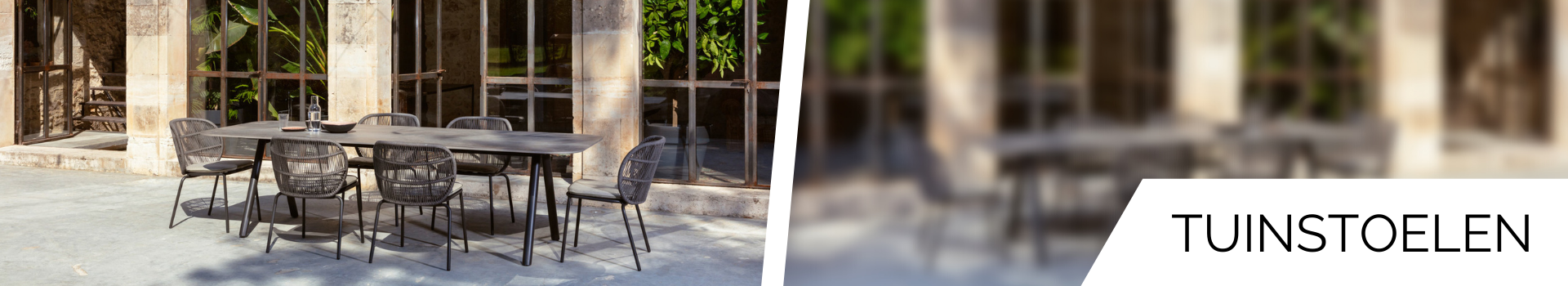Outdoor stoelen bij A Propos Wooncultuur
